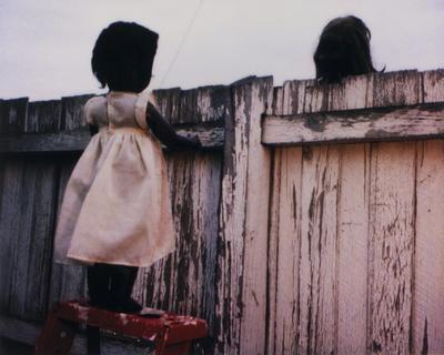 Over the fence (From the series Sad & Bad); 2000; 2002/0258