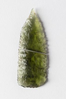 Spear tip; 1974/XI18