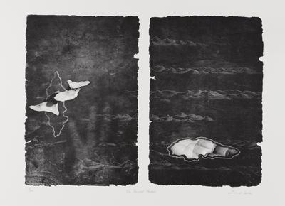 The record keepers (from the Duyfken: The Aboriginal Print Portfolio); 2006; 2007/0322.1