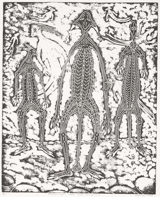 Anthromorphs Midst Rock Arrangements; 1989; 2009/0071