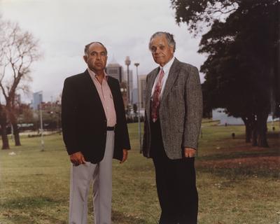 Joseph Croft and Mervyn Bishop, Cleveland Street/Prince Alfred Park, Redfern