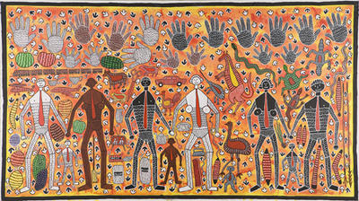 Hands of time (Assimilation and integration); 1987; 1988/0145