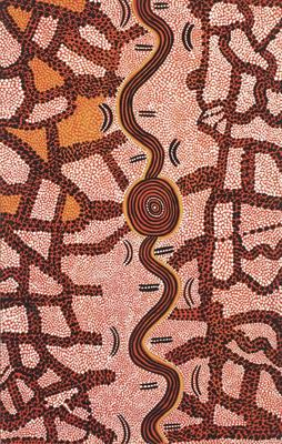 The snake and the bushfire