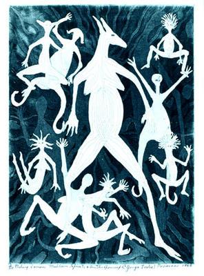 Mubborn spirits and Anthropomorph 'Yonga Tribe'