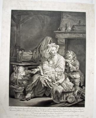Woman nursing