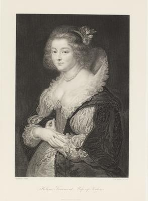 Helene Fourment, wife of Rubens; 1854; 1990/0416