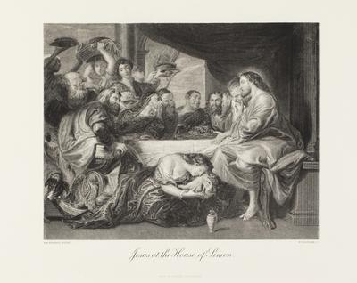 Jesus at the House of Simon; 1850-1899; 1990/0424