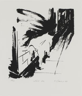 White dog; 1989; 1991/0284