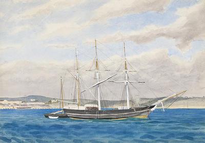 The barque Bridgetown, Fremantle