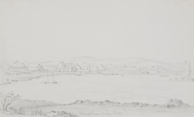 View of Fremantle from South Jetty