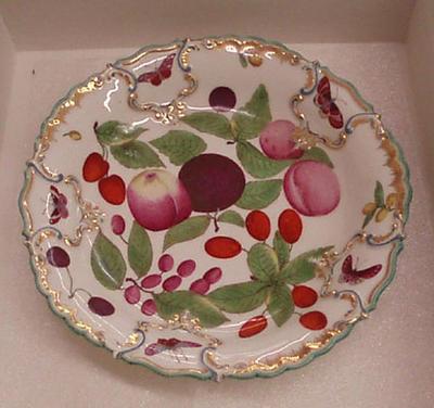 Dessert dish from the `Duke of Cambridge' service
