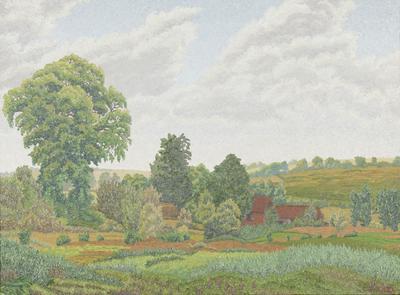 Landscape with farm (Landscape near Marlborough)