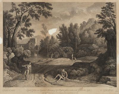 Scenery by Peunin; c 1827-c 1828; 1905/0Q23