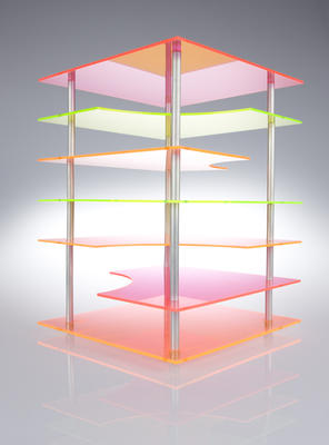 Untitled (Plastic assemblage)