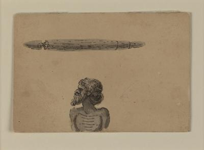 Untitled (man and artefact)