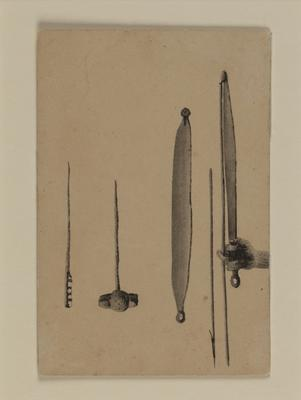 (Indigenous artifacts)