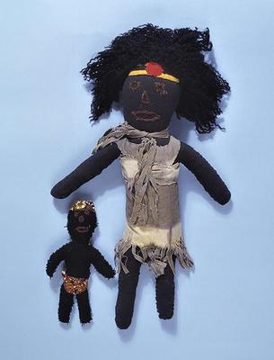 Rag doll (with land rights headband)