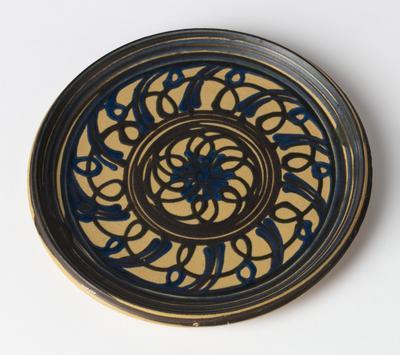 Plate; c 1915; 2001/0196