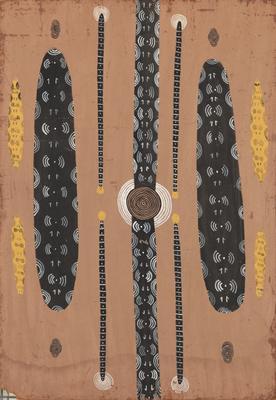 Corroboree of the Wallaby men; 1973; 1991/0049