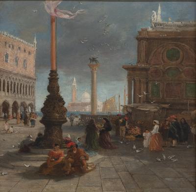 The Piazetta, Venice