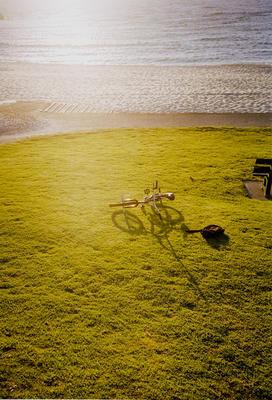 Bike on grass; 2004; 2009/0107