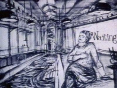 Johannesburg, 2nd Greatest city after Paris  (1 of 9 films from 'Drawings for Projection' series)