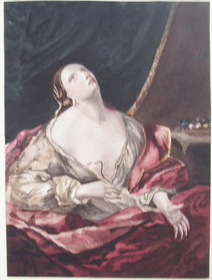not titled [Cleopatra after (Guido Reni)]