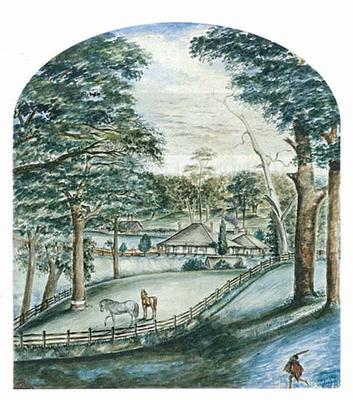 St. Leonard's: The property of E.P. Barrett Lennard Esquire, Swan River, Western Australia; c 1840s; 2010/0104