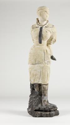 Woman in sailor suit; 2009; 2010/0108