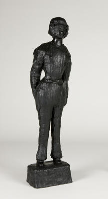 Man dressed as woman; 2010; 2010/0109