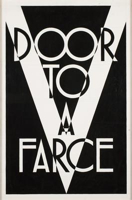 Door To A Farce, Farce To Adore; 2010; 2011/0042.a-b