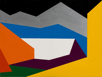 Alpine Landscape Translation 11 (Naturalism-Abstraction) (After H. Gleisner), Colour Group E (Random)