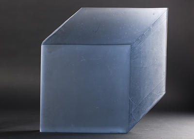 Kind of cube, blue; 2012; 2013/0053