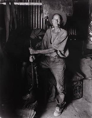 Bob Otway, prospector & digger, Nullagine