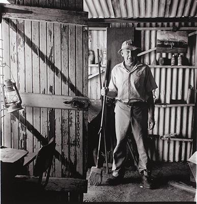 'Trout' Bennett, prospector, Sandstone