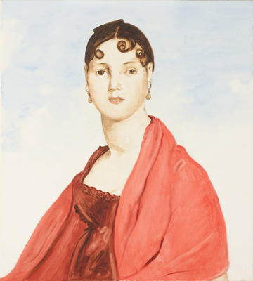 Mme Aymon (La Belle Zelie) aftern Ingres