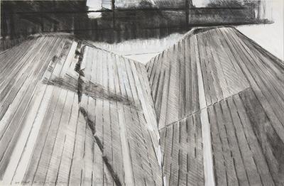 Continuous wooden floor; 1970; 2014/0163