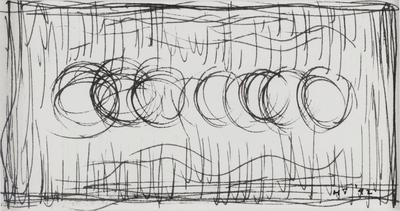 Untitled [Light, Discs, Column]