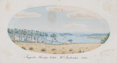 Augusta Hardys Inlet. Western Australia 1840