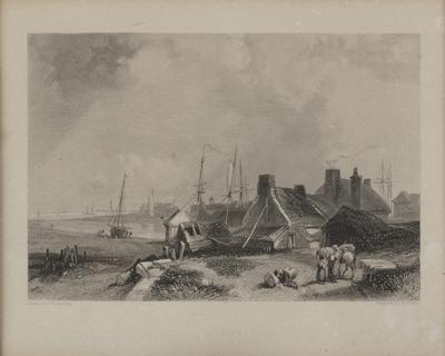 Blyth from The Ports, Harbours, Watering-Places and Coast Scenery of Great Britain