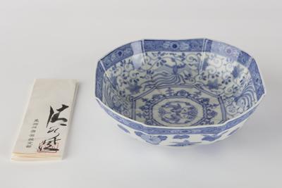 Plate with chrysanthemum and paulownia decoration