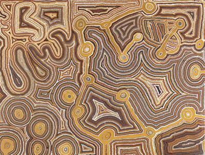 Mupurri - bandicoot dreaming; 1988; 1988/0169