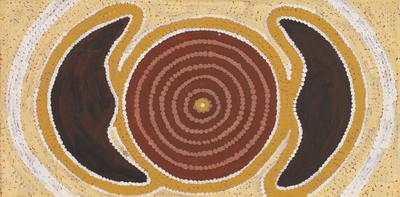 Women's coolamon's (from Tingari ceremonial cycle)
