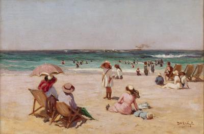 The beach at Perth