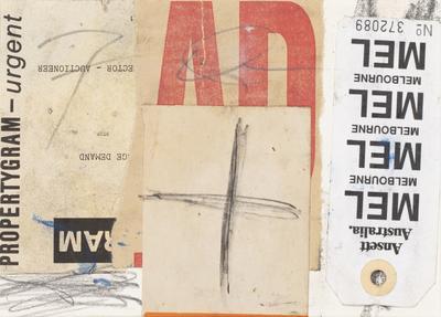Ansett collage; 1993; 2020/0052
