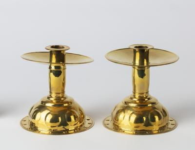Pair of candles holders