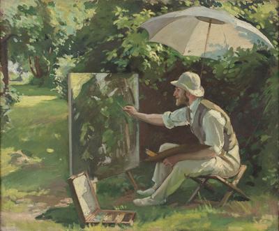 Portrait of Philip Connard