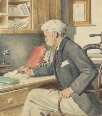Portrait of Bernard Woodward