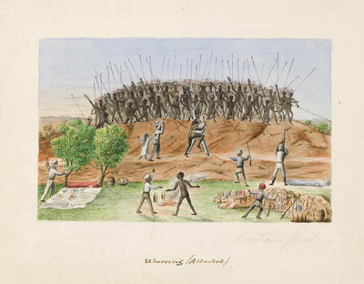 Ularring (Attacked) Woodhouse Feud; c 1876; 1970/00W9