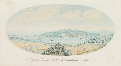 Augusta Hardys Inlet, Western Australia 1838